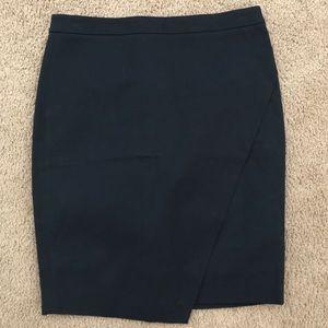 Asymmetrical Banana Republic Pencil Skirt
